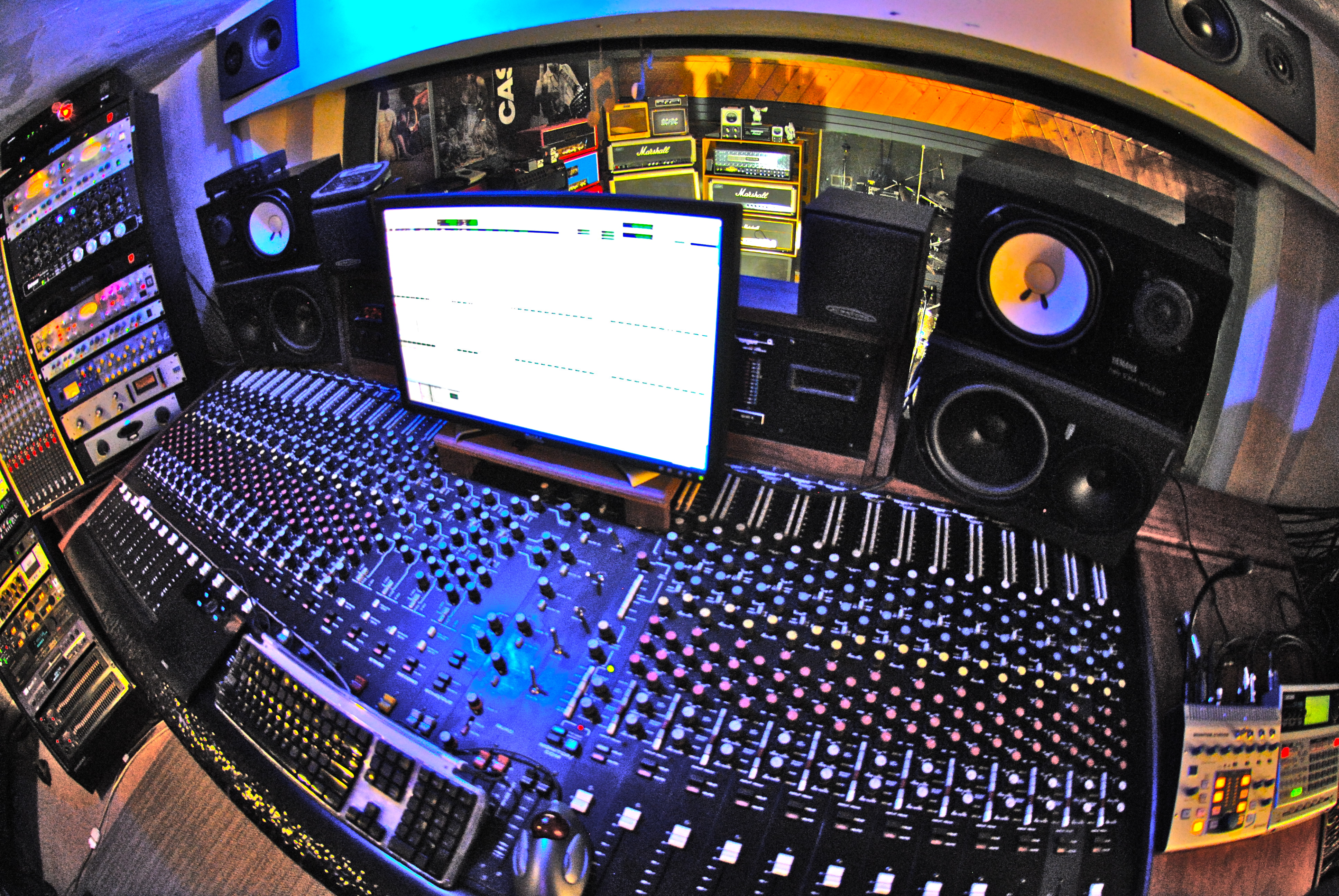 Surprising Phoenix Az Full Well Recording Studios Equipment List Largest Home Design Picture Inspirations Pitcheantrous